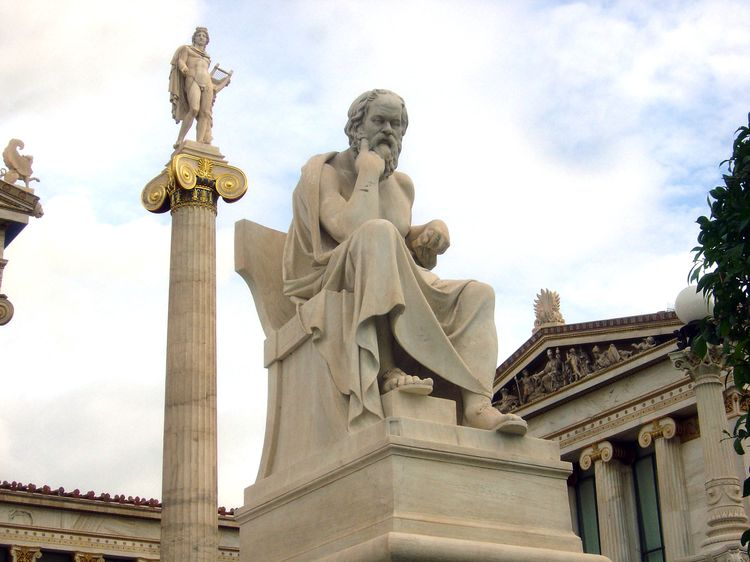 Socrates_by_Leonidas_Drosis,_Athens_-_Academy_of_Athens